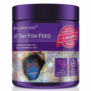 Aquaforest 120g Tiny Fish Feed Food 1mm Pellet