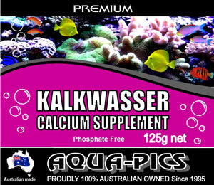 Aqua-Pics Kalkwasser 225g Calcium Supplement