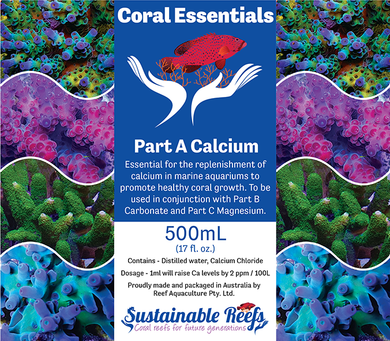 Coral Essentials Part A Calcium