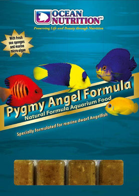 Ocean nutrition pygmy angel formula frozen food