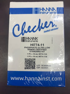 Hanna Marine Calibration Kit for ULR Phosphate