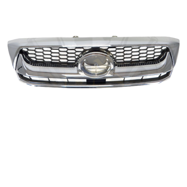 CHROME REPLACEMENT FRONT BUMPER BAR GRILL TO SUIT TOYOTA HILUX 2005-2011 SR SR5
