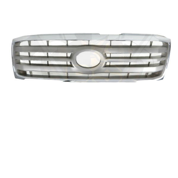 REPLACEMENT CHROME BUMPER BAR GRILL TO SUIT TOYOTA LANDCRUISER 100 SERIES