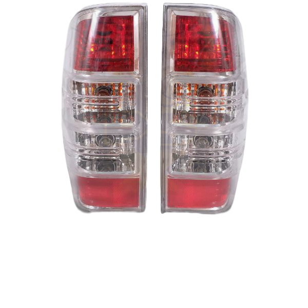 REPLACEMENT TAIL LIGHTS LHS+RHS TO SUIT FORD RANGER PK 2009-2011