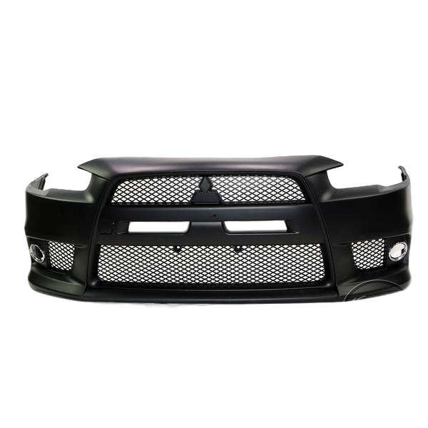EVOLUTION STYLE EVO FRONT BUMPER BAR TO SUIT MITSUBISHI LANCER CJ CF SEDAN 2007-2019