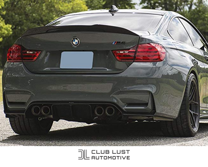 M4 Style Black Rear Boot Lip Spoiler for BMW 4 Series F32 & M4 F82