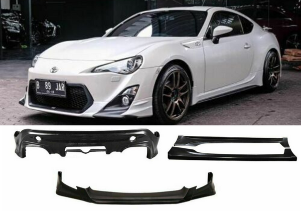 FULL TRD STYLE PLASTIC BODY KIT TO SUIT TOYOTA 86 SUBARU BRZ 2012-2016