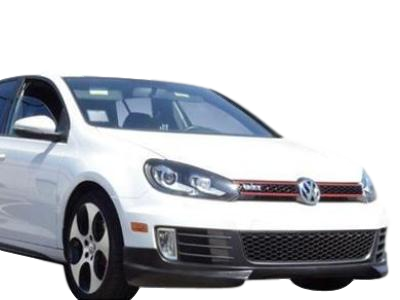 RIEGER STYLE FRONT BUMPER BAR LIP TO SUIT VW VOLKSWAGEN GOLF GTI MK6 2009-2011