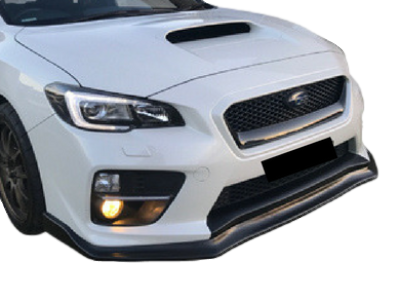 CHARGESPEED STYLE FRONT BUMPER BAR LIP TO SUIT SUBARU WRX 2015-2017