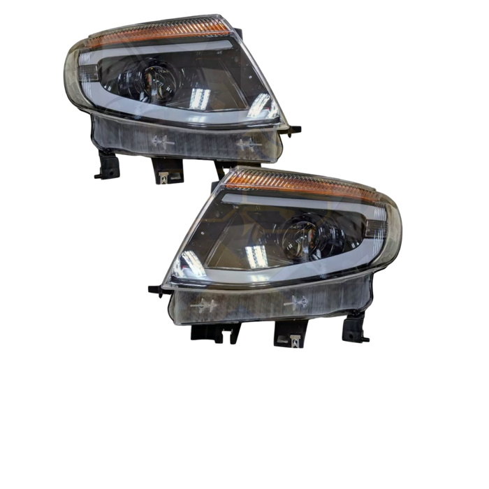 LED HEADLIGHT REPLACEMENTS TO SUIT FORD RANGER PX1 MK1 2012-2015