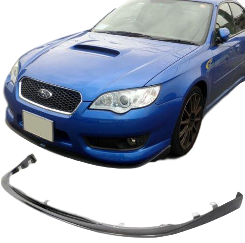 SPEC B STYLE FRONT BUMPER BAR LIP TO SUIT SUBARU LIBERTY STI 2007-2009