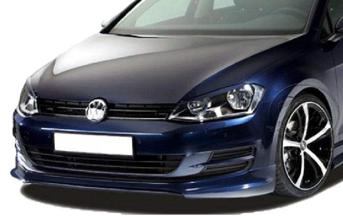 FRONT BUMPER BAR LIP PDX TO SUIT VOLKSWAGEN VW GOLF 7 2013-2017