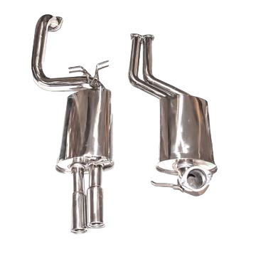 Sedan Stainless Exhaust Catback To Suit Ford Falcon (2002-2009) XR8 / XR6T (BA & BF) Sedan