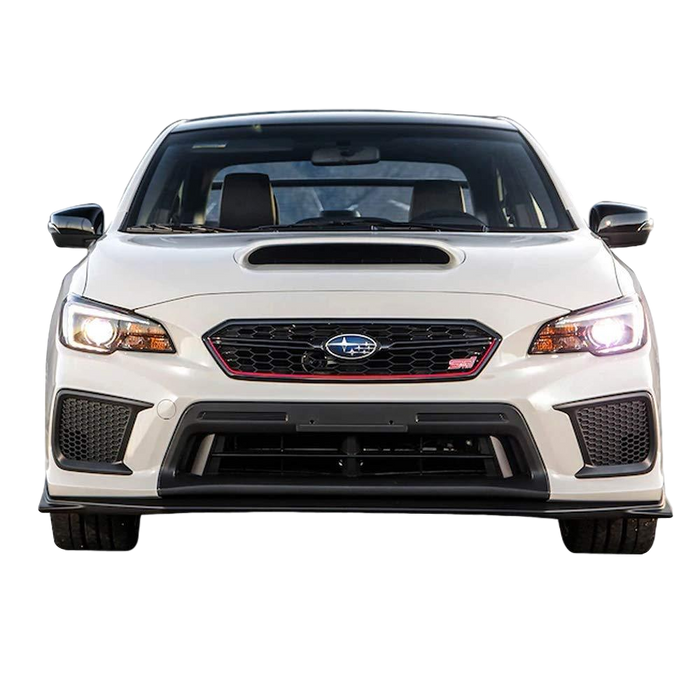 LUST X FRONT BUMPER BAR LIP TO SUIT SUBARU WRX STI 2015-2018