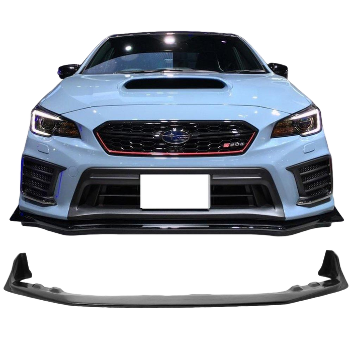S208 STYLE FRONT BUMPER BAR LIP TO SUIT SUBARU WRX STI 2015-2017
