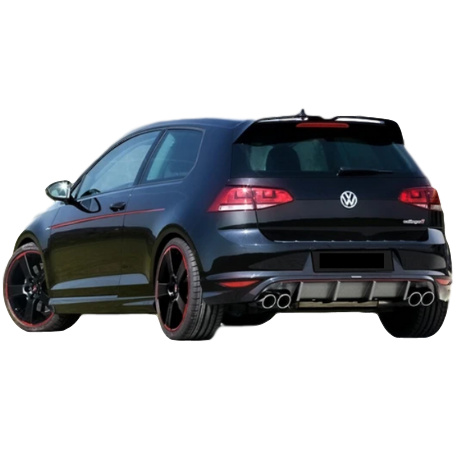 REAR BUMPER BAR DIFFUSER TO SUIT VW GOLF GTI 2012-2016
