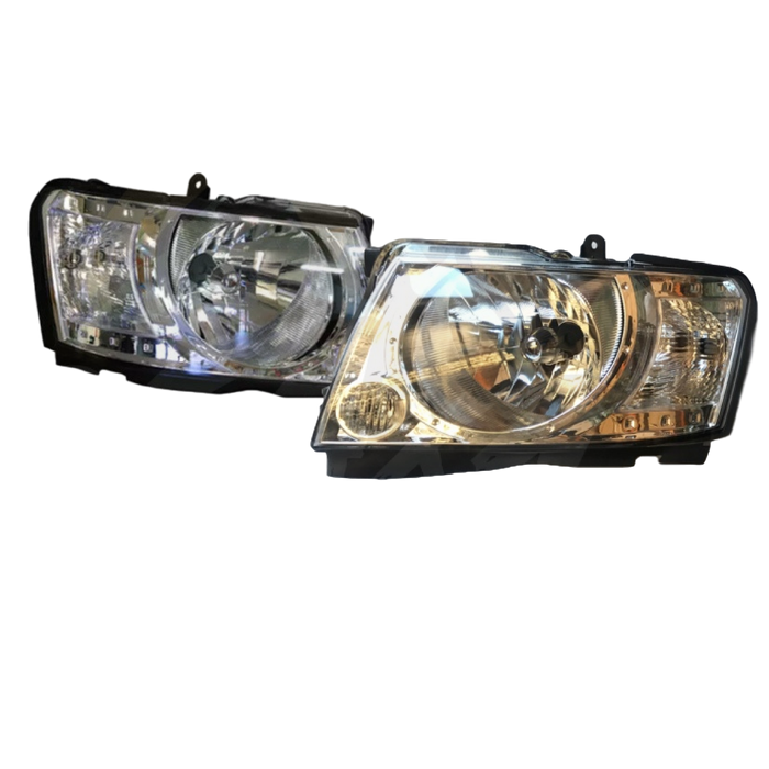 HEADLIGHT REPLACEMENTS TO SUIT NISSAN PATROL GU4 10/2004-2015 4X4 4WD