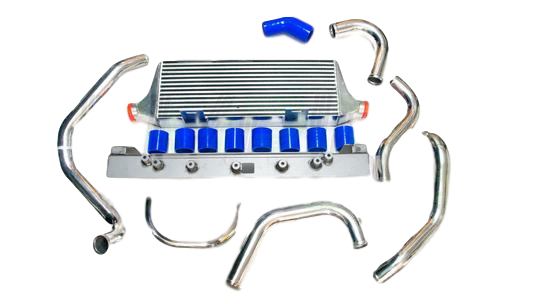 FRONT MOUNT INTERCOOLER KIT TO SUBARU WRX STI GD (2001-2007) 90MM