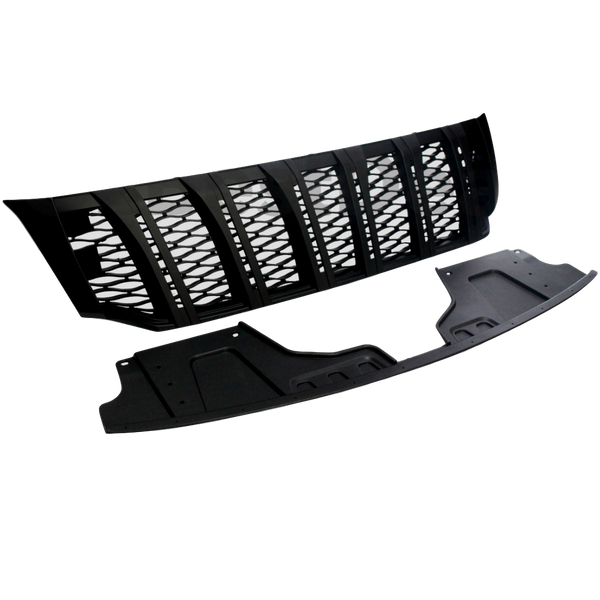 MATTE BLACK FRONT GRILL TO SUIT NISSAN NAVARA NP300 D23 2015-2019
