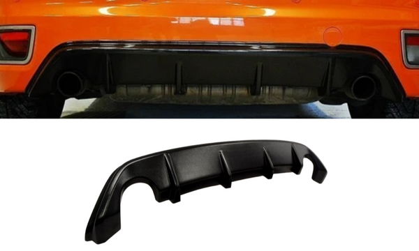 ABS GLOSS BLACK REAR BUMPER BAR DIFFUSER TO SUIT FORD XR5 TURBO PRE-FACE LIFT 2006-2007