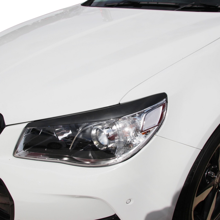 INJECTION PLASTIC HEADLIGHT COVERS TO SUIT HSV GEN-F VF CLUBSPORT R8 GTS MALOO  2013-2017