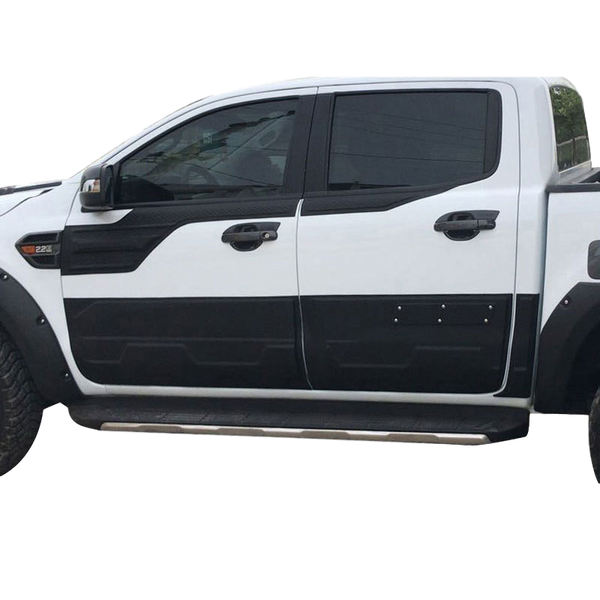 DOOR BODY MOULD CLADDING TRIMS TO SUIT FORD RANGER PX1 PX2 PX3 2012-2019