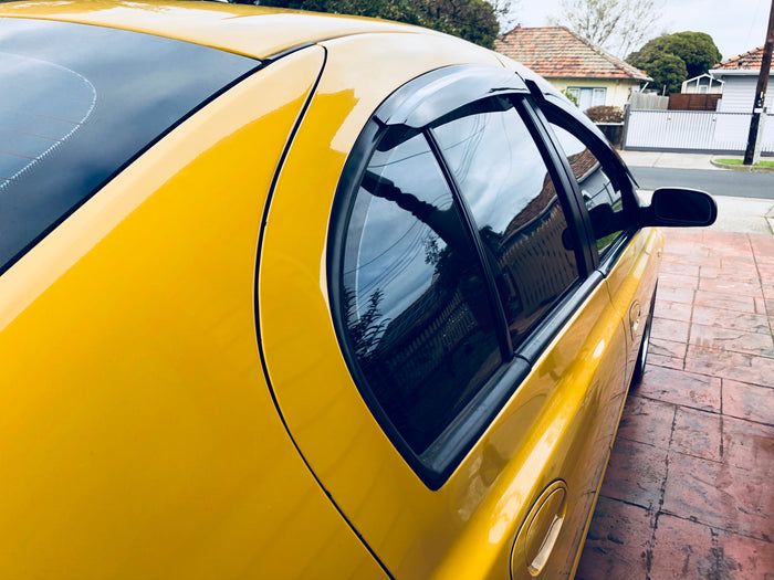 WEATHER SHIELD WINDOW VISORS TO SUIT FORD FALCON SEDAN BA BF 2002-2008