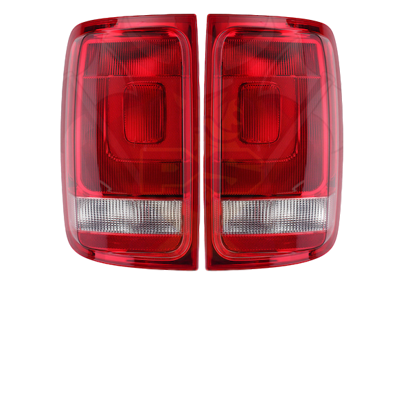 REPLACE TAIL LIGHTS LHS+RHS TO SUIT VW VOLKSWAGEN AMAROK 2010-2018