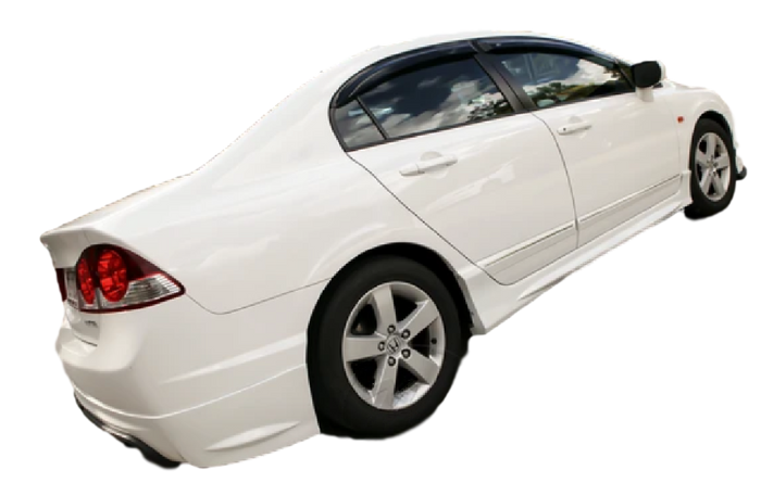 PLASTIC SIDE SKIRTS TO SUIT HONDA CIVIC SEDAN FD 2006-2012 8TH GENERATION