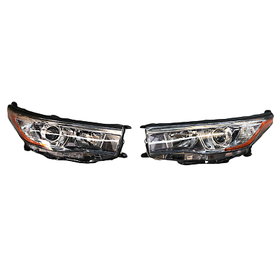 REPLACEMENT HEADLIGHTS TO SUIT TOYOTA KLUGER 2013-2016