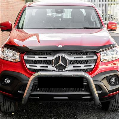 BONNET PROTECTOR & WEATHER SHIELDS TO SUIT MERCEDES X-CLASS 2018-2020 DUAL-CAB