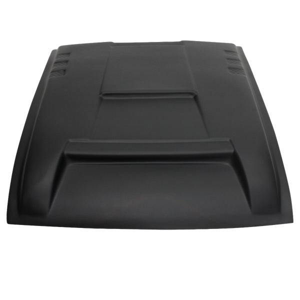 MATTE BLACK BONNET SCOOP TO SUIT NISSAN NAVARA NP300 D23 2015-2020