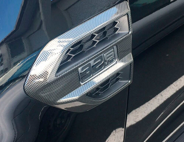 CARBON FIBER SIDE GUARD VENTS TO SUIT FORD RANGER EVEREST 2015-2018 PX2 MK2