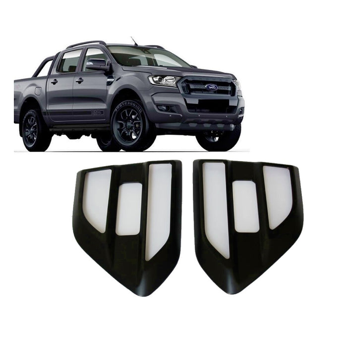 SIDE GUARD VENTS TO SUIT FORD RANGER/EVEREST PX2 PX3 MK2 MK3 2015-2020 4X4 4WD