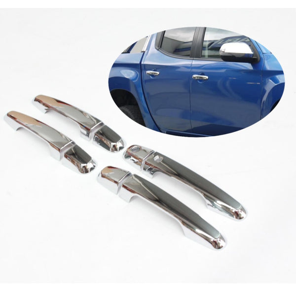 CHROME DOOR HANDLE COVERS TO SUIT MITSUBISHI MR 2019+