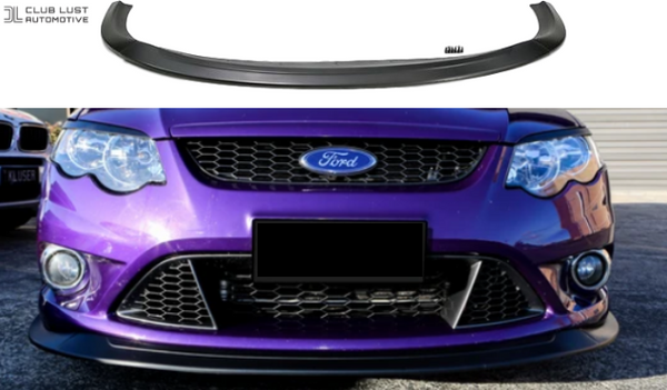 FRONT BUMPER BAR LIP SPLITTER TO SUIT FORD FALCON FG MK1 XR8 XR6 SEDAN UTE 2006-2011