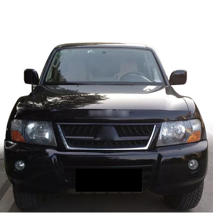 BONNET PROTECTOR & WEATHER SHIELDS TO SUIT MITSUBISHI PAJERO V73 2000-2006