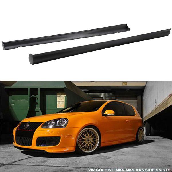 VOTEX STYLE SIDE SKIRTS TO SUIT VW VOLKSWAGEN GOLF 5 GTI 2006-2009