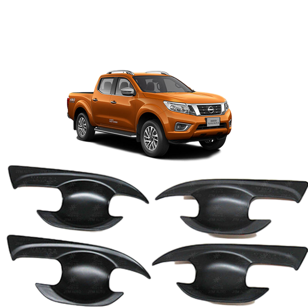 DOOR HANDLE BLACK BOWL COVER TO SUIT NISSAN NP300 D23 2015-2019