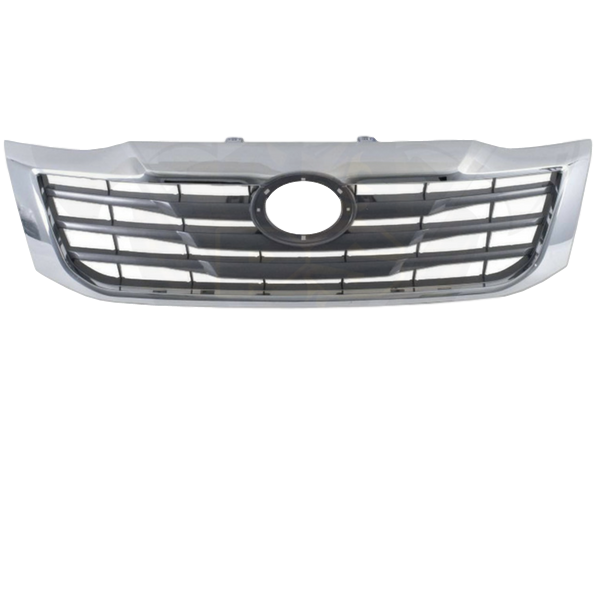 CHROME REPLACEMENT FRONT BUMPER BAR GRILL TO SUIT TOYOTA HILUX 2011-2015 SR SR5