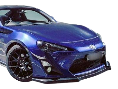 CL EXCLUSIVE FRONT BUMPER BAR LIP TO SUIT TOYOTA 86 2013-2016