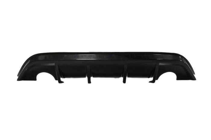 ABS GLOSS BLACK REAR BUMPER BAR DIFFUSER TO SUIT FORD XR5 TURBO 2008-2011 FACE LIFT