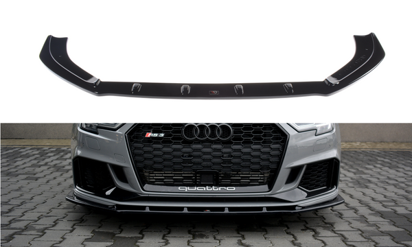 LUST EXCLUSIVE FRONT BUMPER BAR LIP TO SUIT AUDI RS3 8V SEDAN 2017-2019