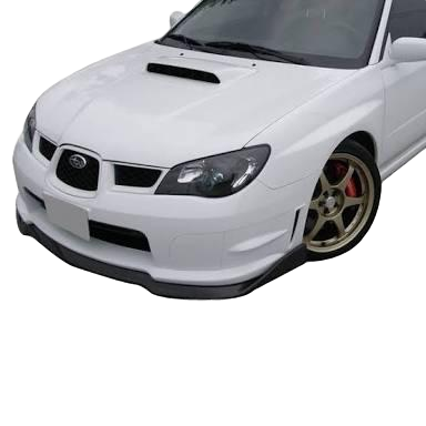CS2 STYLE FRONT BUMPER BAR LIP TO SUIT SUBARU WRX STI HAWKEYE 2006-2007