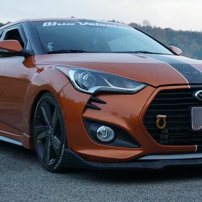 FRONT BUMPER BAR LIP TO SUIT HYUNDAI VELOSTER TURBO 2012-2016