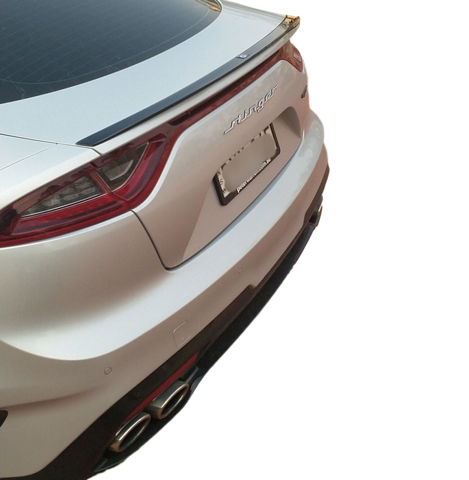 ABS GLOSS BLACK REAR BOOT LIP SPOILER TO SUIT KIA STINGER GT 2017-2019