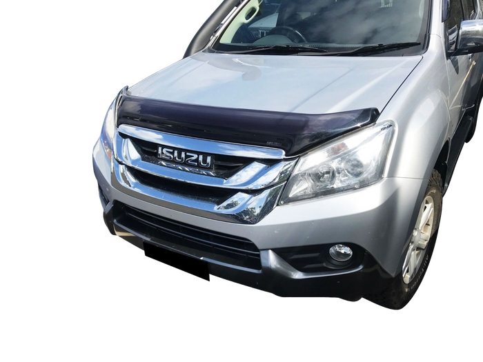 BONNET PROTECTOR AND WEATHER SHIELDS TO SUIT ISUZU D-MAX 12-16 DUALCAB