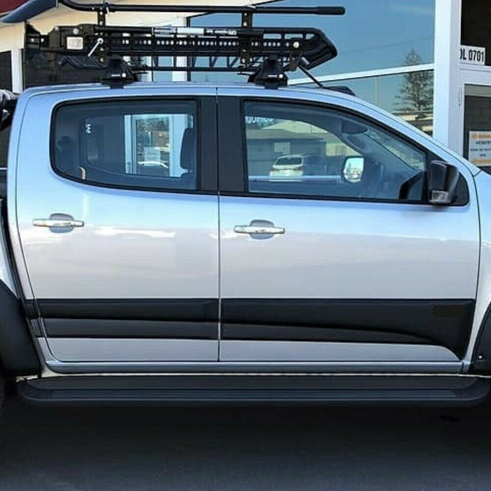 BODY DOOR CLADDING ARMOUR TO SUIT HOLDEN COLORADO 2017+