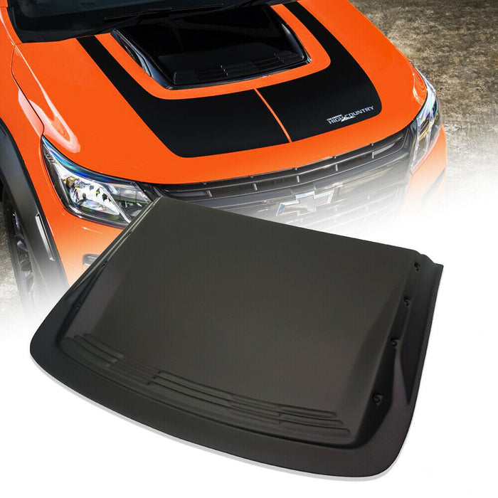 BONNET SCOOP W/ STUDS TO SUIT HOLDEN COLORADO 2016-2019 4X4 4WD