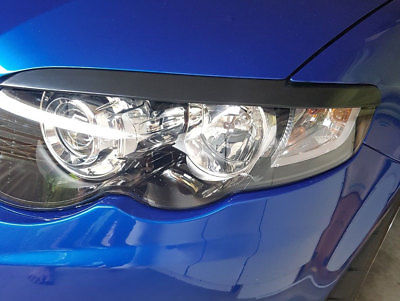 INJECTION PLASTIC HEADLIGHT EYEBROW EYELID COVERS TO SUIT FORD FALCON FG SERIES 2008-2014